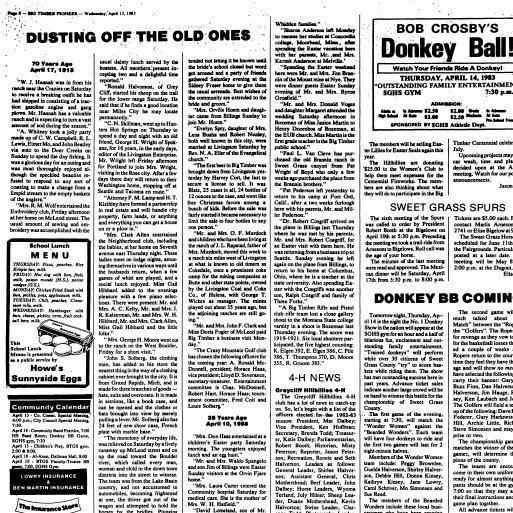 The Big Timber Pioneer (Big Timber, Mont.) 1983-current, April 13 ...