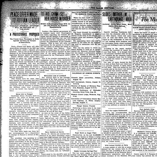 Baker Sentinel (Baker, Mont ) 1909-1925, July 17, 1925, Page