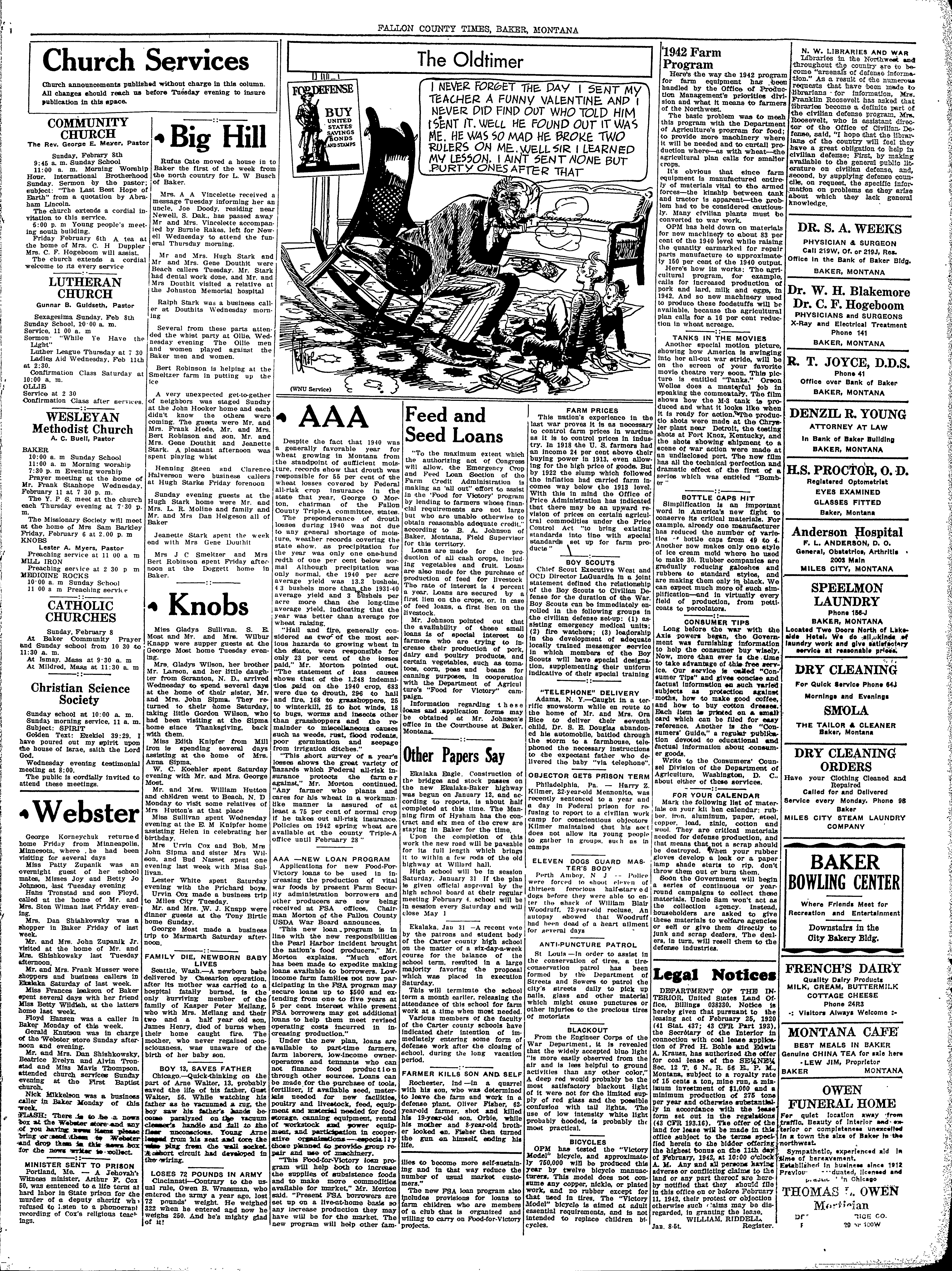 Fallon County Times (Baker, Mont ) 1916-current, February 05