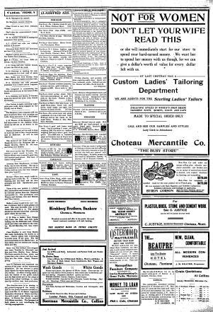 The Choteau Acantha (Choteau, Mont ) 1904-current, March 24