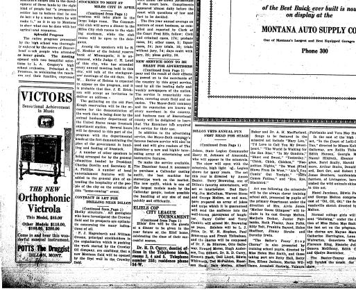 The Dillon Examiner (Dillon, Mont ) 1891-1962, March 02, 1927, Page