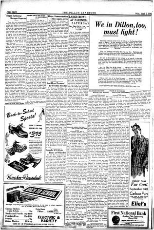 The Dillon Examiner (Dillon, Mont ) 1891-1962, September 02