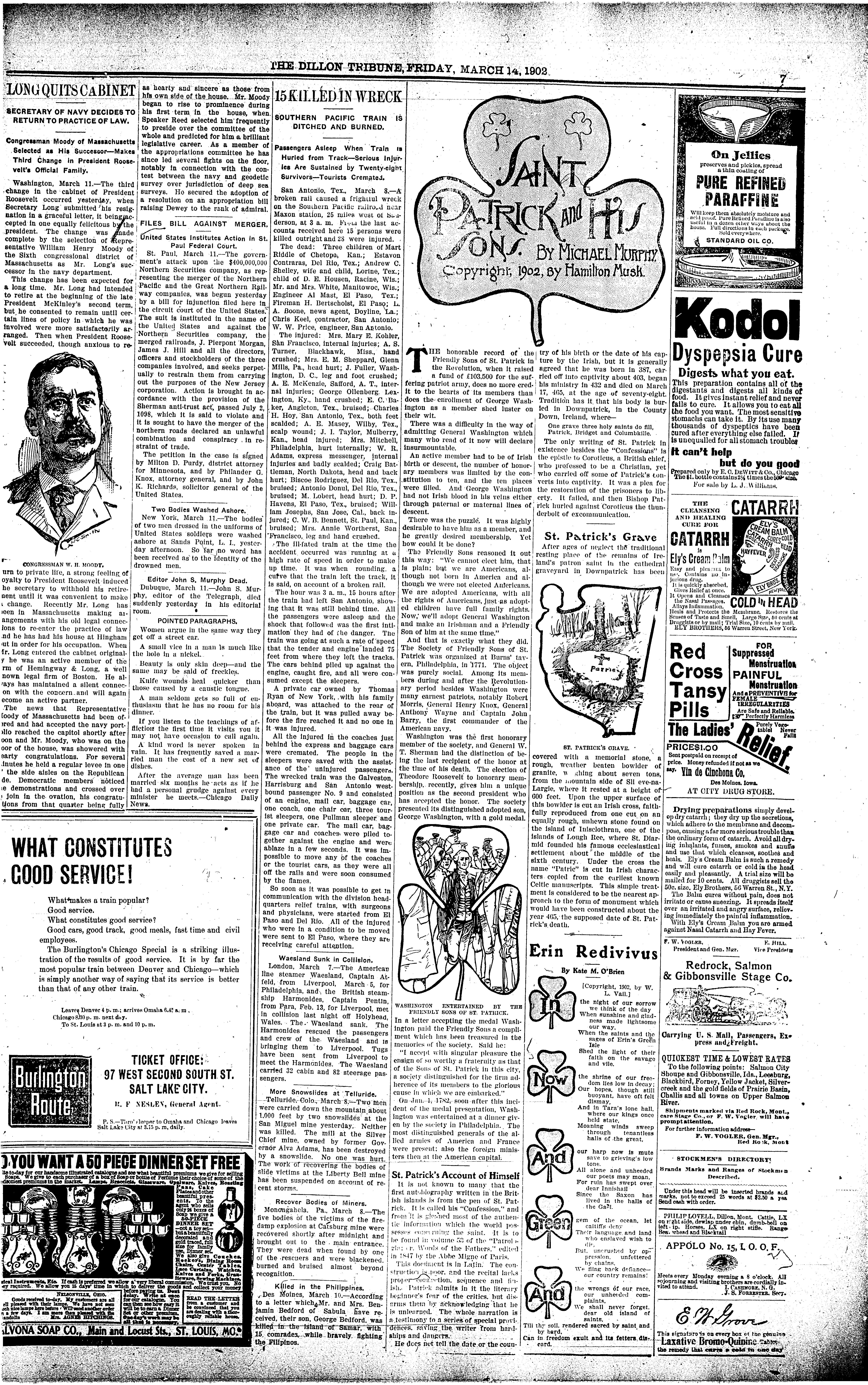 The Dillon Tribune (Dillon, Mont ) 1881-1941, March 14, 1902
