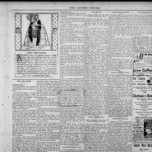 The River Press (Fort Benton, Mont ) 1880-current, December