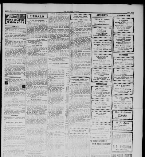 The Roundup Record (Roundup, Mont ) 1908-1929, September 28