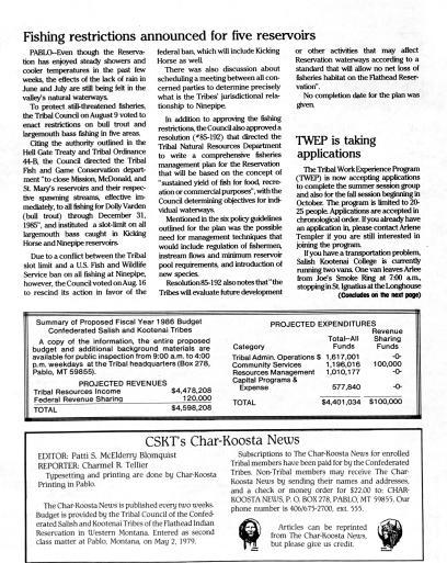 Char-Koosta News (Pablo, Mont ) 1985-current, August 22